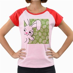 Easter bunny  Women s Cap Sleeve T-Shirt