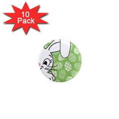 Easter bunny  1  Mini Magnet (10 pack)