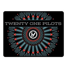 Twenty One Pilots Double Sided Fleece Blanket (Small)