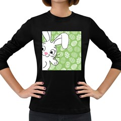 Easter bunny  Women s Long Sleeve Dark T-Shirts