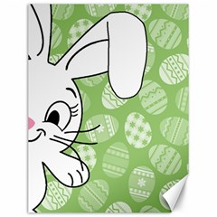 Easter bunny  Canvas 12  x 16