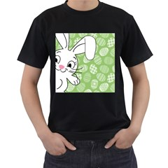 Easter bunny  Men s T-Shirt (Black)