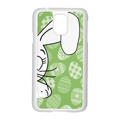 Easter bunny  Samsung Galaxy S5 Case (White)