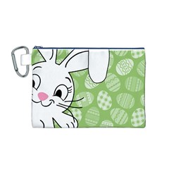 Easter bunny  Canvas Cosmetic Bag (M)