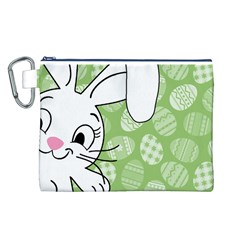 Easter bunny  Canvas Cosmetic Bag (L)