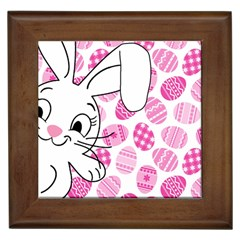 Easter bunny  Framed Tiles