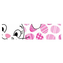 Easter bunny  Satin Scarf (Oblong)