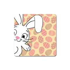 Easter bunny  Square Magnet