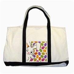 Easter bunny  Two Tone Tote Bag