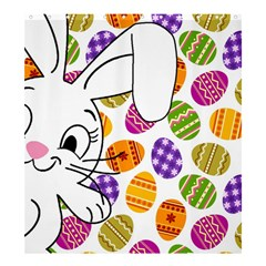 Easter bunny  Shower Curtain 66  x 72  (Large)