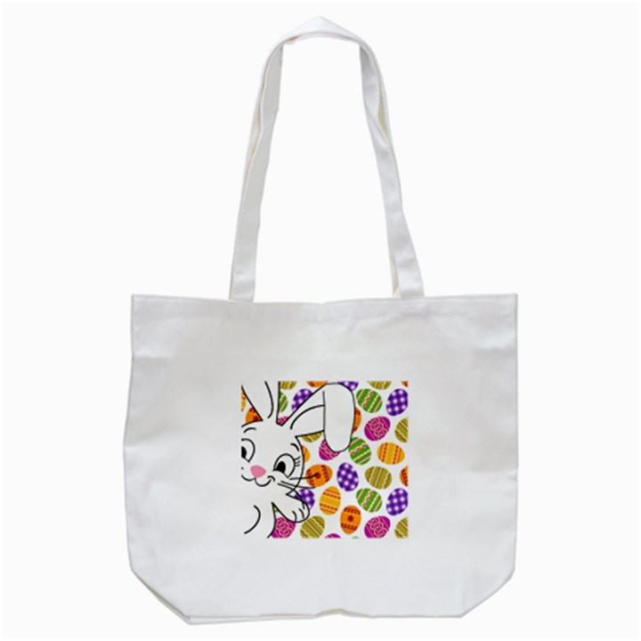Easter bunny  Tote Bag (White)