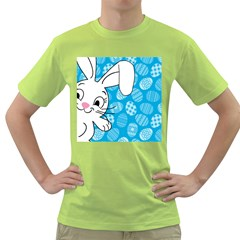 Easter bunny  Green T-Shirt