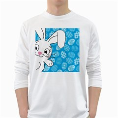 Easter bunny  White Long Sleeve T-Shirts