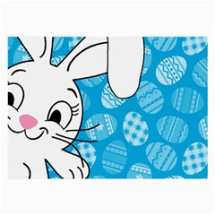 Easter bunny  Large Glasses Cloth (2-Side)