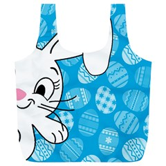 Easter bunny  Full Print Recycle Bags (L)