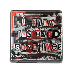 Top Lyrics Twenty One Pilots The Run And Boys Memory Card Reader (square)