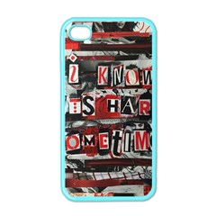 Top Lyrics Twenty One Pilots The Run And Boys Apple iPhone 4 Case (Color)