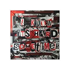 Top Lyrics Twenty One Pilots The Run And Boys Acrylic Tangram Puzzle (4  x 4 )