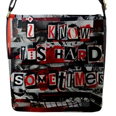 Top Lyrics Twenty One Pilots The Run And Boys Flap Messenger Bag (s)