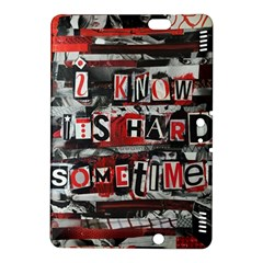 Top Lyrics Twenty One Pilots The Run And Boys Kindle Fire Hdx 8 9  Hardshell Case