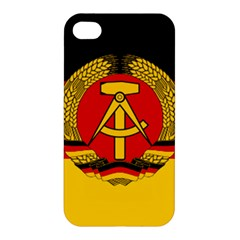 Flag of East Germany Apple iPhone 4/4S Hardshell Case