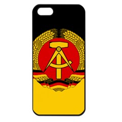 Flag of East Germany Apple iPhone 5 Seamless Case (Black)