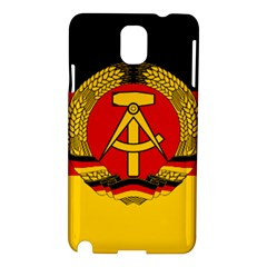 Flag of East Germany Samsung Galaxy Note 3 N9005 Hardshell Case