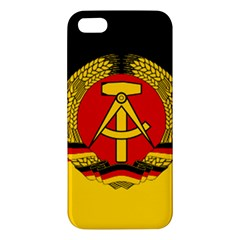 Flag of East Germany iPhone 5S/ SE Premium Hardshell Case