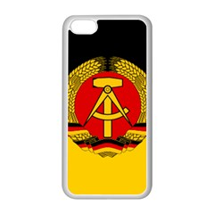Flag of East Germany Apple iPhone 5C Seamless Case (White)