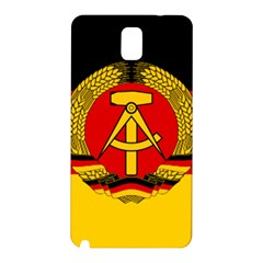 Flag of East Germany Samsung Galaxy Note 3 N9005 Hardshell Back Case
