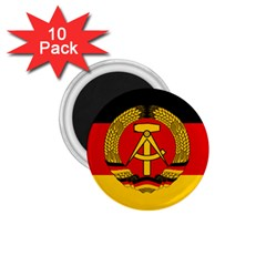 Flag of East Germany 1.75  Magnets (10 pack)