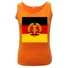 Flag of East Germany Women s Dark Tank Top