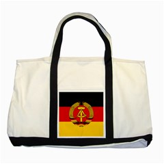 Flag of East Germany Two Tone Tote Bag