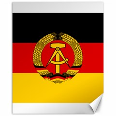 Flag of East Germany Canvas 16  x 20
