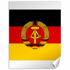 Flag of East Germany Canvas 18  x 24