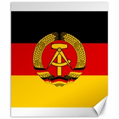Flag of East Germany Canvas 20  x 24