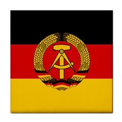Flag of East Germany Face Towel