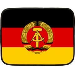 Flag of East Germany Fleece Blanket (Mini)