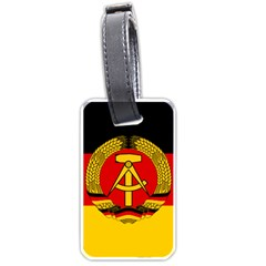 Flag of East Germany Luggage Tags (Two Sides)