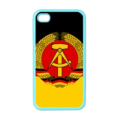 Flag of East Germany Apple iPhone 4 Case (Color)
