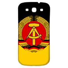 Flag of East Germany Samsung Galaxy S3 S III Classic Hardshell Back Case