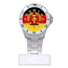Flag of East Germany Plastic Nurses Watch