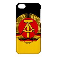 Flag of East Germany Apple iPhone 5C Hardshell Case