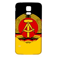 Flag of East Germany Samsung Galaxy S5 Back Case (White)
