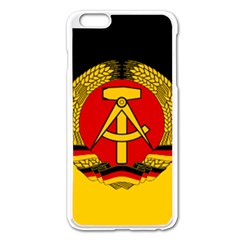 Flag of East Germany Apple iPhone 6 Plus/6S Plus Enamel White Case