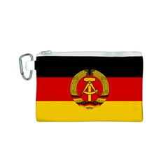 Flag of East Germany Canvas Cosmetic Bag (S)
