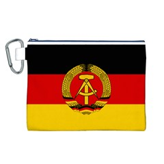 Flag of East Germany Canvas Cosmetic Bag (L)