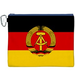 Flag of East Germany Canvas Cosmetic Bag (XXXL)