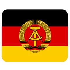 Flag Of East Germany Double Sided Flano Blanket (medium)