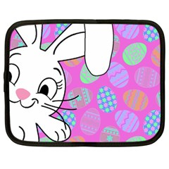 Easter bunny  Netbook Case (XXL)